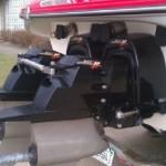 Twin MerCruiser outdrives